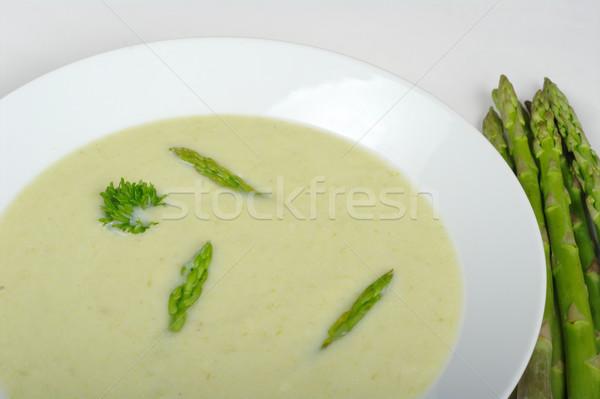 Asparagus Soup Stock photo © ildi