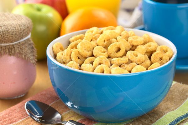 Honey Flavoured Cereal Loops Stock photo © ildi