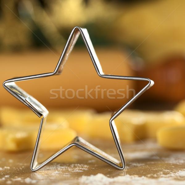 Star-Shaped Cookie Cutter Stock photo © ildi
