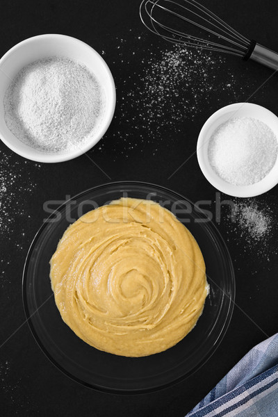 Basic Cake or Cookie Dough Stock photo © ildi