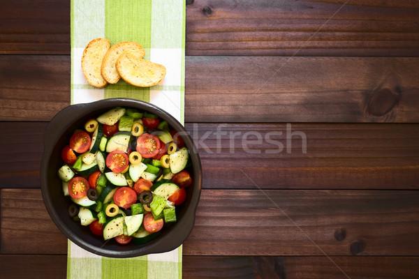 Fresh Salad Stock photo © ildi