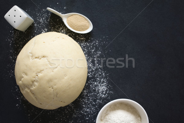 Risen or Proved Yeast Dough Stock photo © ildi