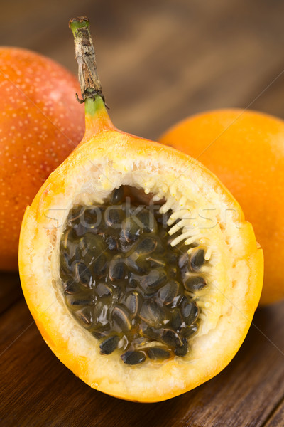 Sweet Granadilla or Grenadia Stock photo © ildi