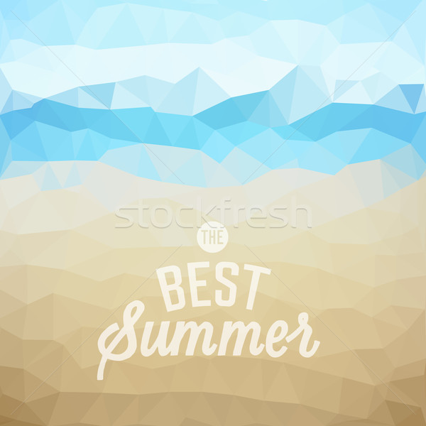 Stock photo: Summer holiday tropical beach background
