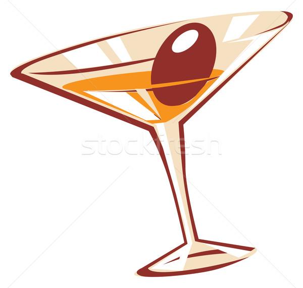 Cocktail glass Stock photo © ildogesto