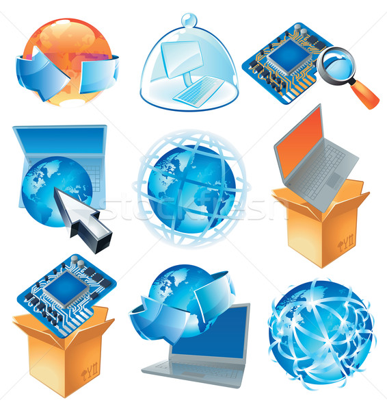 Concepts for IT-business Stock photo © ildogesto