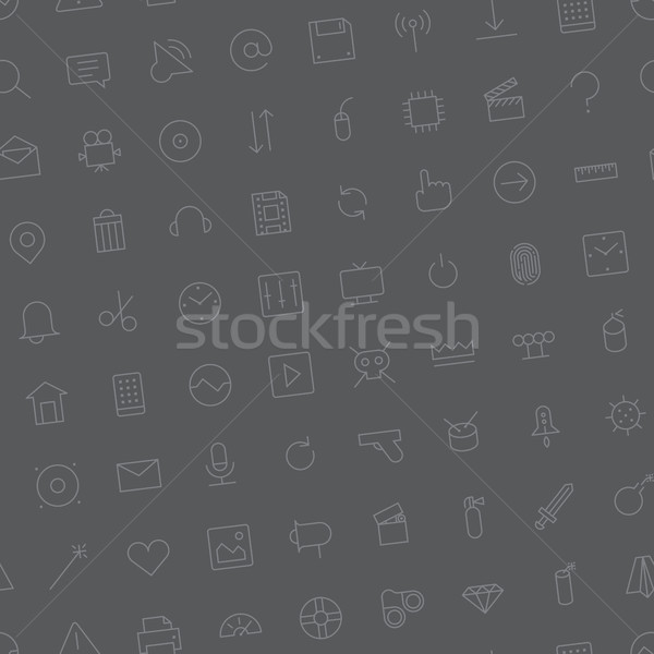 Seamless background pattern for user interface Stock photo © ildogesto
