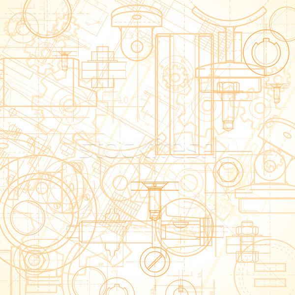 Industrial fundo abstrato vetor Foto stock © ildogesto