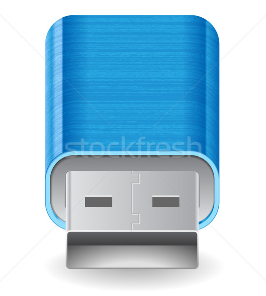 Stock photo: Icon for flash drive