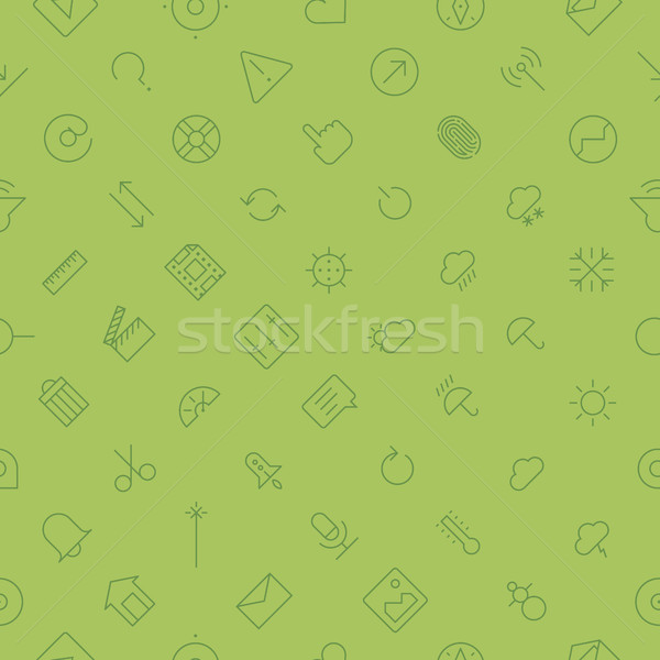 Utilisateur interface technologie léger ligne Photo stock © ildogesto