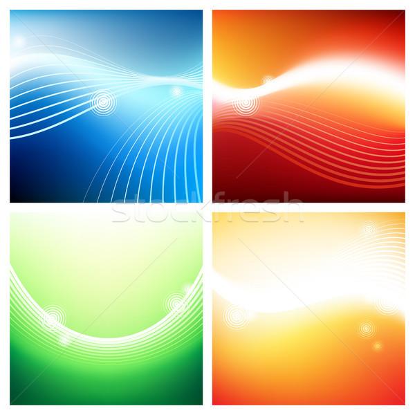 яркий фоны потока текстуры аннотация дизайна Сток-фото © ildogesto