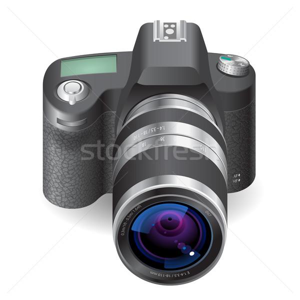 Icon for SLR camera Stock photo © ildogesto