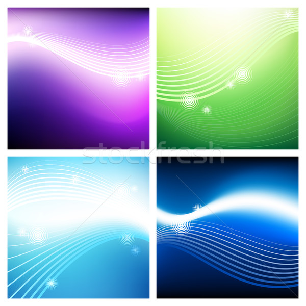 Vivid aerial backgrounds Stock photo © ildogesto