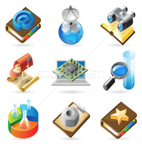 Icon concepts for technology Stock photo © ildogesto