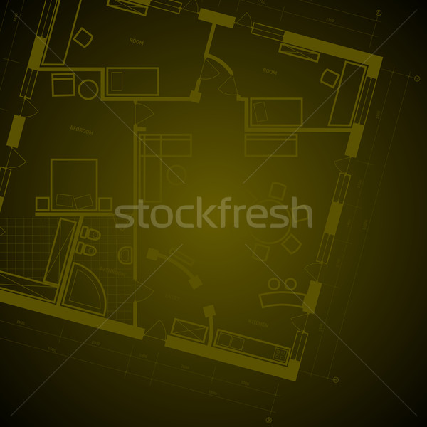 Blueprint background Stock photo © ildogesto