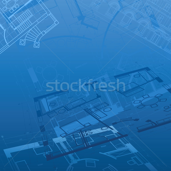 Abstract architectural background Stock photo © ildogesto