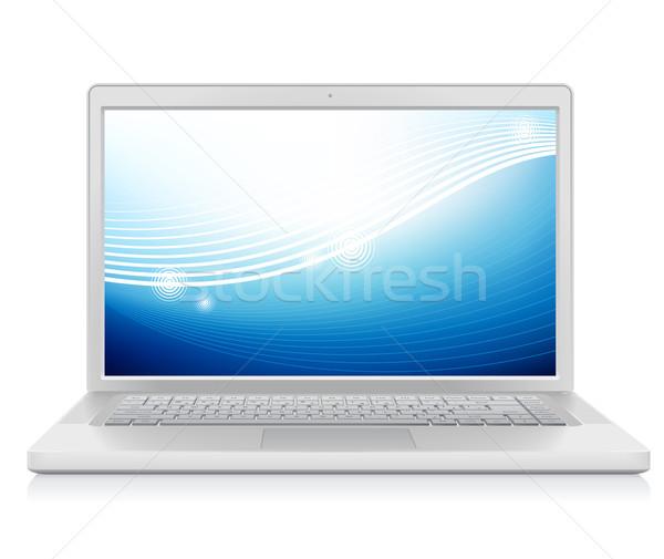 ноутбука аннотация обои высокий подробный красочный Сток-фото © ildogesto