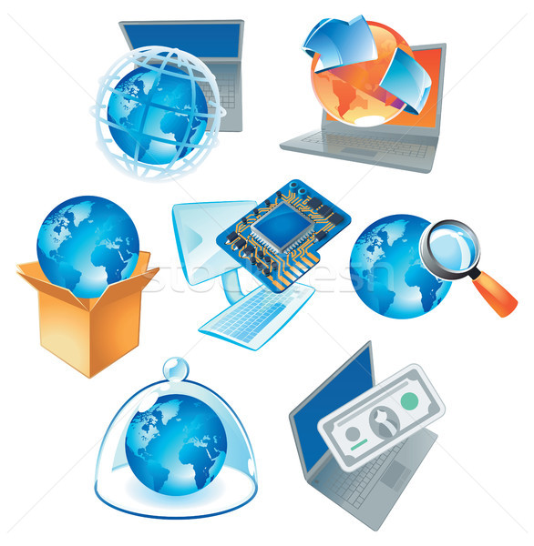 Concepts for technology Stock photo © ildogesto