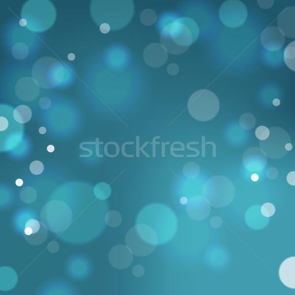 Festive background with bokeh defocused lights Stock photo © ildogesto
