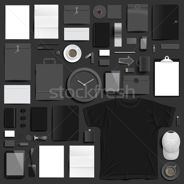 Corporate identity template Stock photo © ildogesto