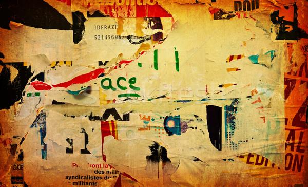 Stock fotó: Klasszikus · papír · régi · papír · textúrák · tökéletes · űr