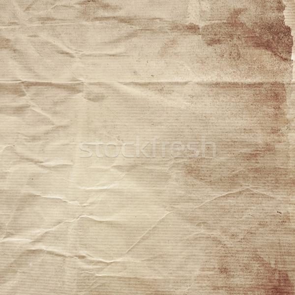 Гранж Vintage текстуры старой бумаги ткань антикварная Сток-фото © ilolab