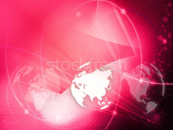 Asia map  Stock photo © ilolab