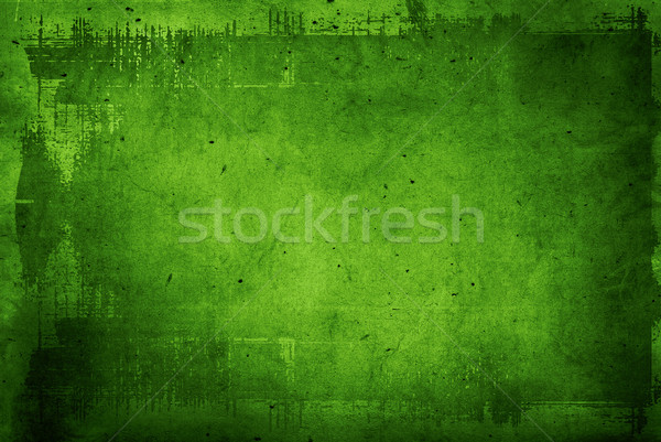 Sehr detaillierte Grunge Rahmen Raum Wand Stock foto © ilolab