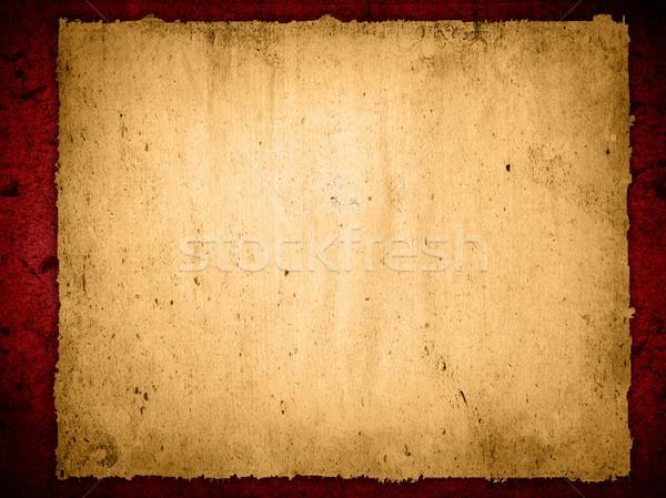 Alten schäbig Papier Texturen Buch Holz Stock foto © ilolab
