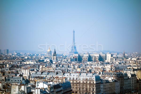antique city building in paris,france Europe Stock photo © ilolab