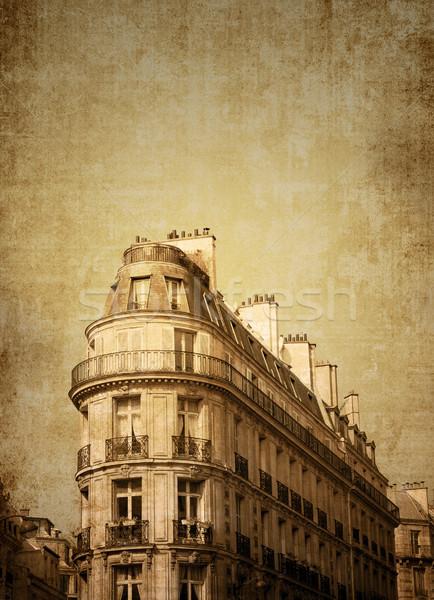 パリ フランス 美しい パリジャン 通り スペース ストックフォト © ilolab