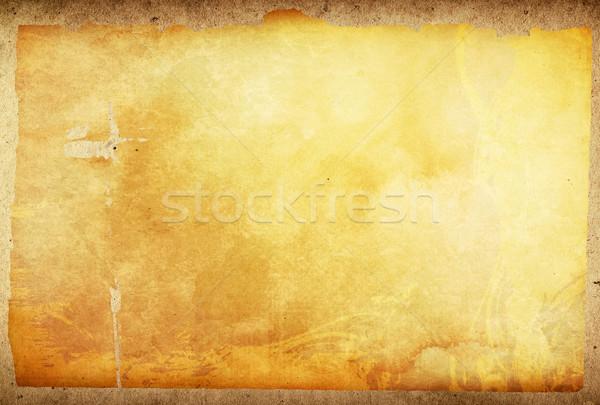 Stock fotó: Régi · papír · textúrák · űr · szöveg · kép · textúra