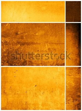 O melhor coleção papel textura parede projeto Foto stock © ilolab