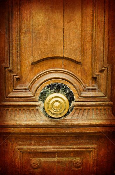 Drzwi grunge tekstury środowisk domu Zdjęcia stock © ilolab