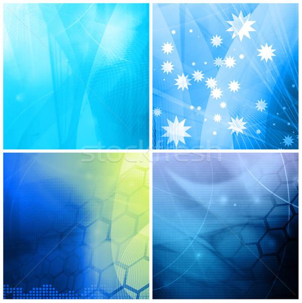 Streszczenie galaktyki doskonały przestrzeni tekst obraz Zdjęcia stock © ilolab