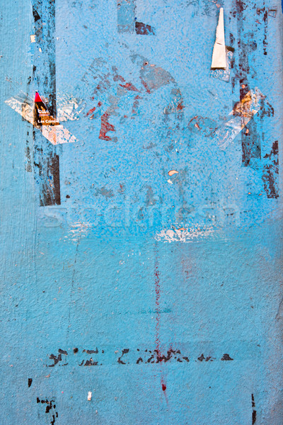Dettagliato grunge spazio muro wallpaper Foto d'archivio © ilolab