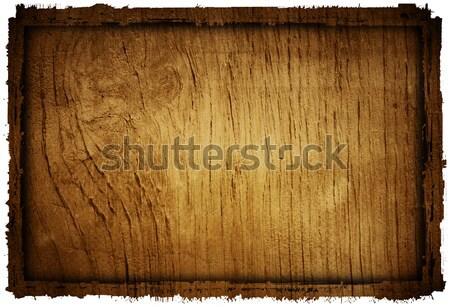 Holz schmutzig Raum Text Wand Hintergrund Stock foto © ilolab
