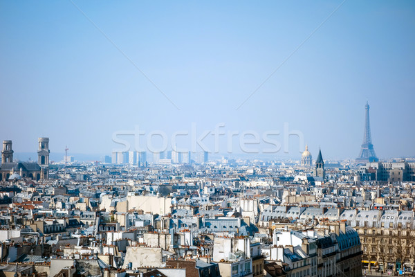 Antika şehir Bina Avrupa gökyüzü ev Stok fotoğraf © ilolab