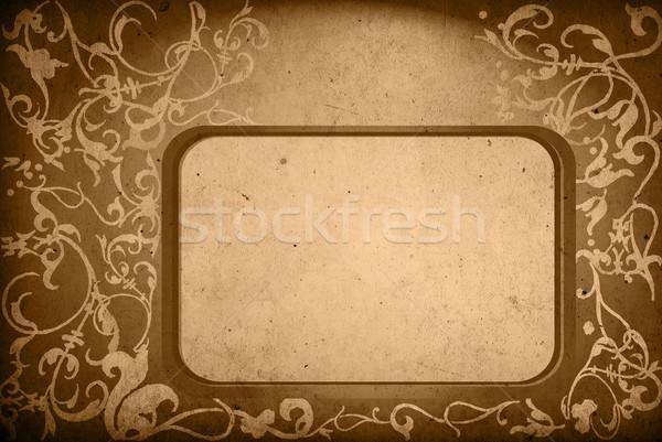Floral estilo texturas fondos marco espacio Foto stock © ilolab