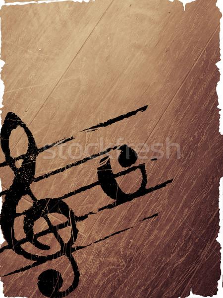 grunge melody textures  Stock photo © ilolab