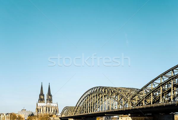 Gothic kathedraal Duitsland gebouw Stockfoto © ilolab