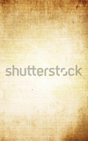 Levélpapír grunge textúrák iroda könyv iskola Stock fotó © ilolab