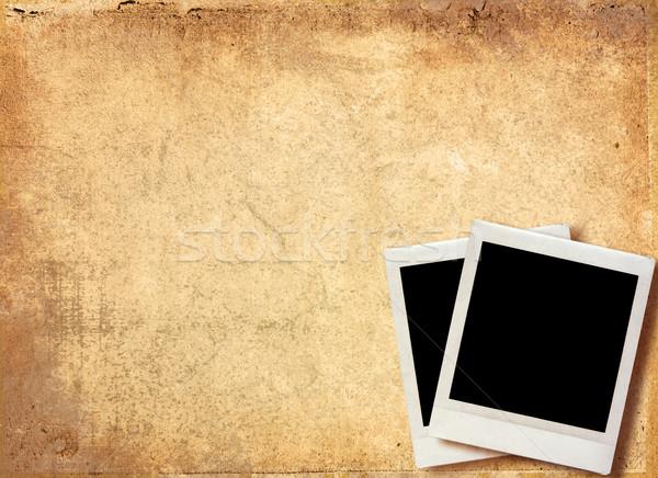 Jahrgang Foto Grunge Papier Textur Stock foto © ilolab