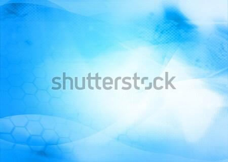 Soyut serin dalgalar galaksi mükemmel uzay Stok fotoğraf © ilolab