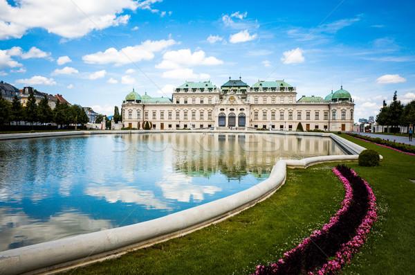 Repère historique bâtiment complexe Vienne Autriche Photo stock © ilolab