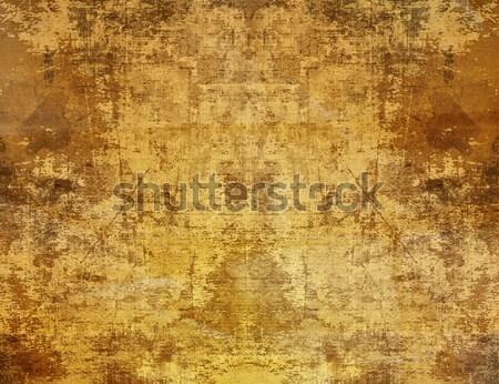 暗い ヴィンテージ レトロな 紙 テクスチャ 壁 ストックフォト © ilolab