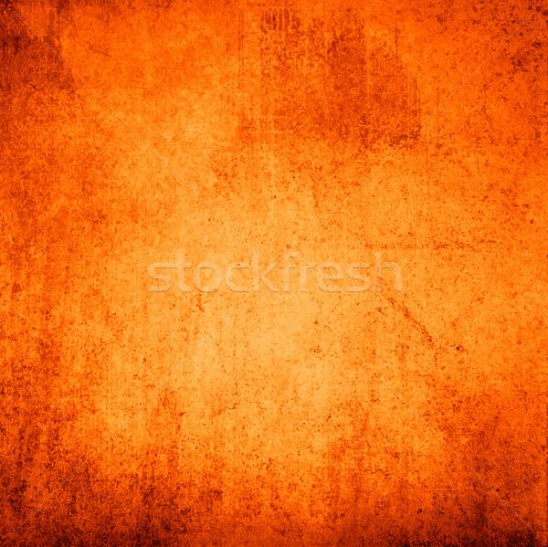 Sehr detaillierte Grunge-Hintergrund rostigen Raum Wand Stock foto © ilolab