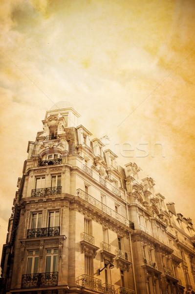 建物 ヨーロッパ テクスチャ 旅行 レトロな アーキテクチャ ストックフォト © ilolab