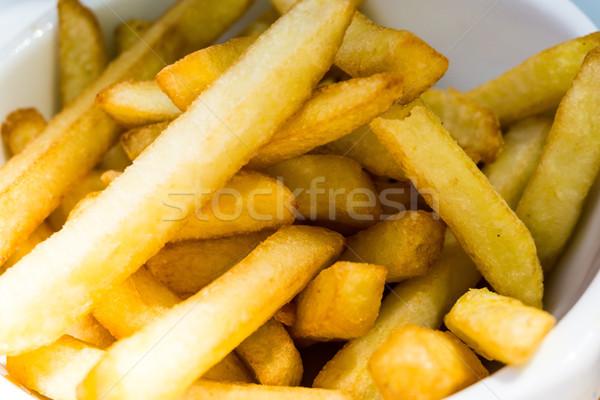 Dourado batatas pronto alimentação Foto stock © ilolab