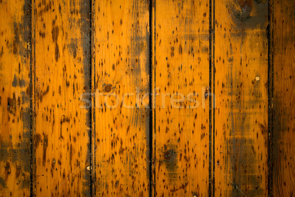 Vintage stained wooden wall  Stock photo © ilolab